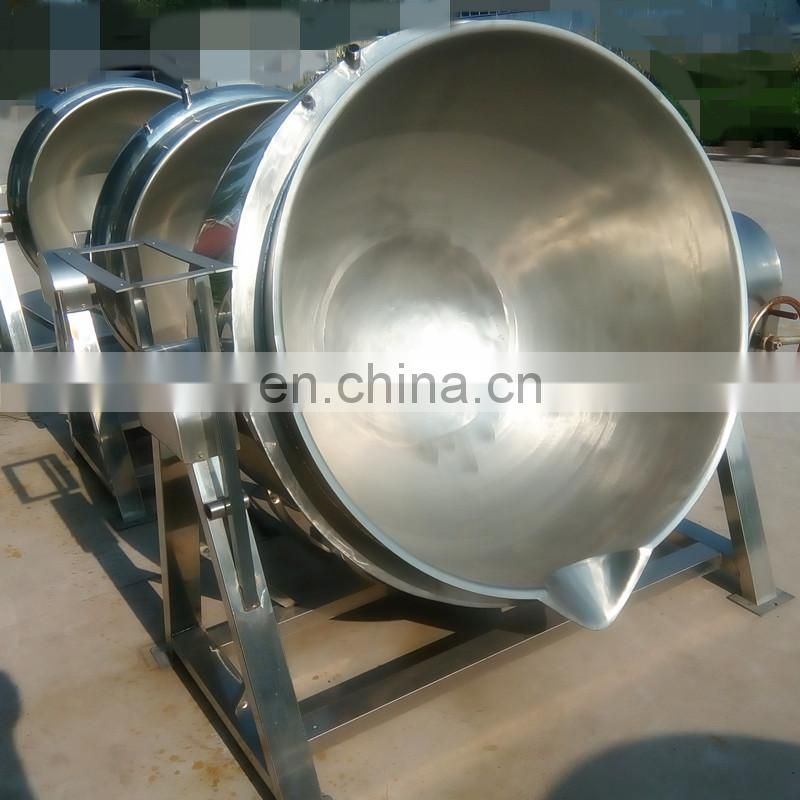 Commercial tilting sandwich cooking pot/Sandwich Boiler Cooking Kettle