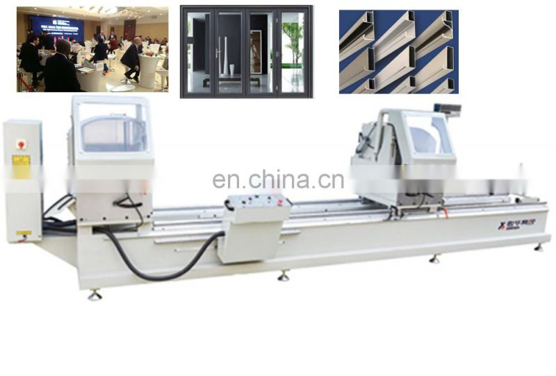 Two head cutting saw machine hot press mold with ce for door Good Quality