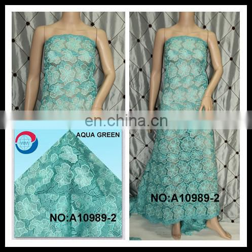2016 organza cord lace fine african lace for wedding