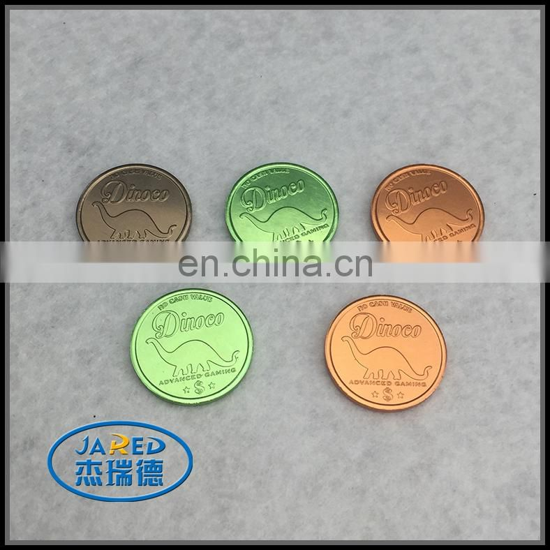 factory wholesale fashion metal coin