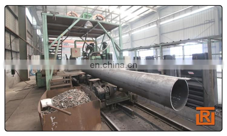 API 5L ERW Straight Welded Steel Pipe Tube