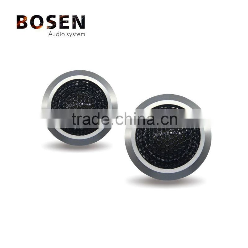 Aluminum 120W 25mm ASV silk dome tweeter car speakers