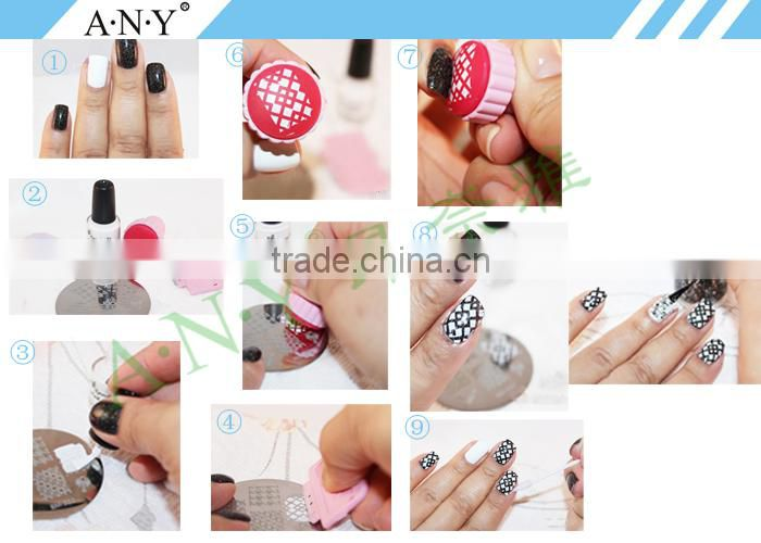 ANY Home DIY Nails Art Design Tools Nail Art Stamp