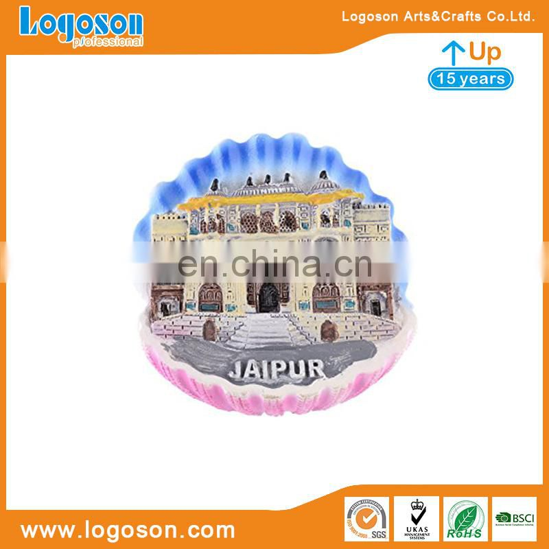 Custom Souvenirs Wholesale Malaysia Souvenir House Shape Resin Fridge Magnet