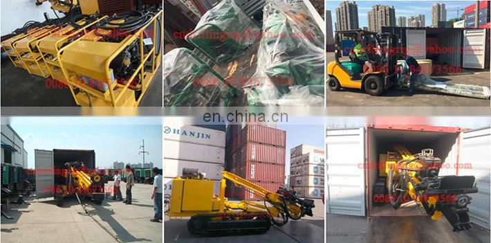 new mine anchoring rig moveable type engineering machine for drilling