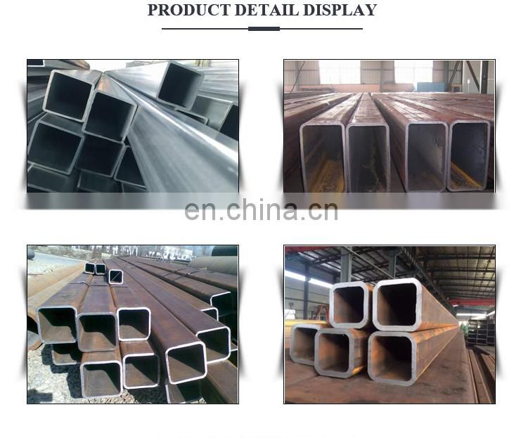low price outer diameter galvanized carbon steel square pipe
