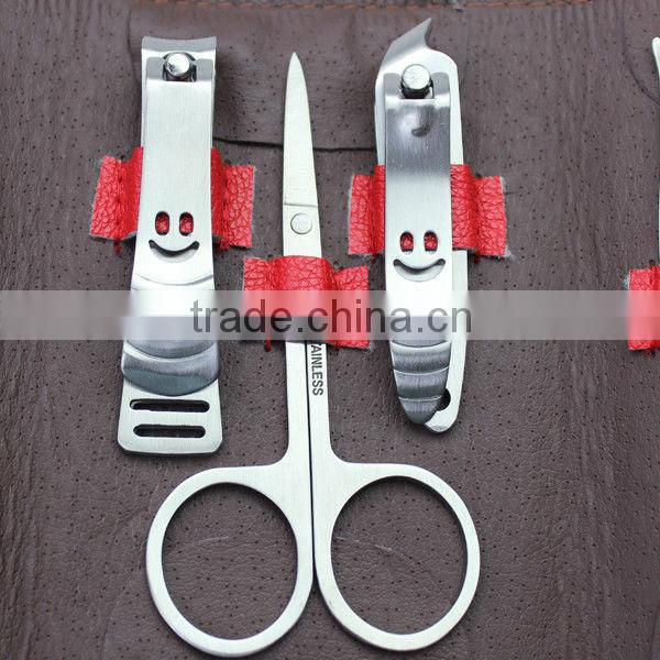 7pcs Stainless Wholesale Personalized Steel Manicure Set