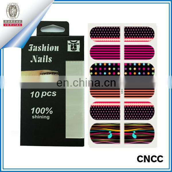 self adhesive nail polish sticker