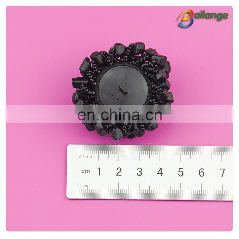 Wholesale fancy fashion designer coat clothing buttons beads button magnetic button for garment