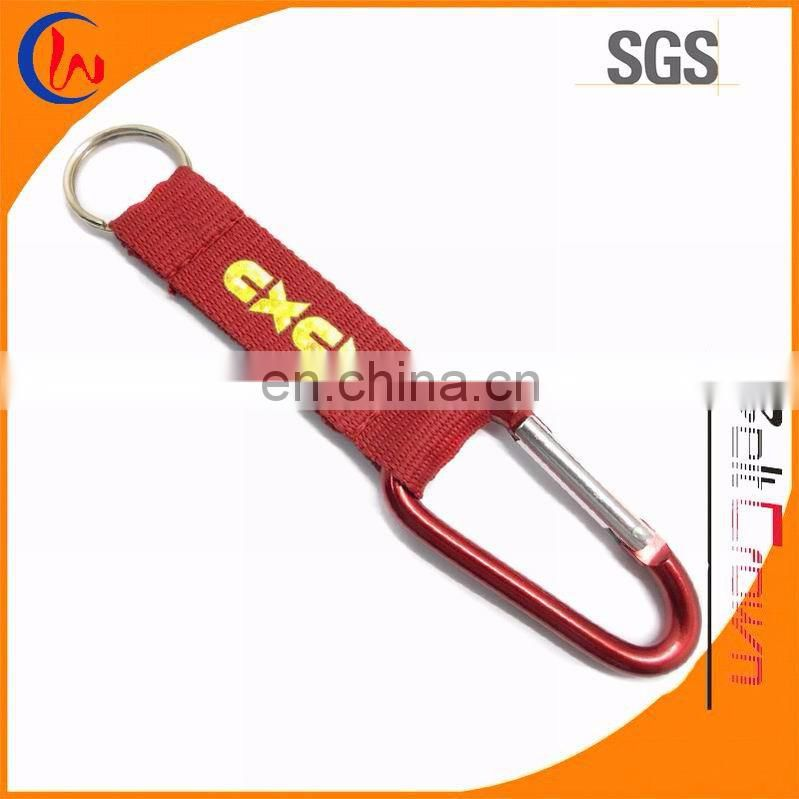 Short Strap Key Chain with Carabiner
