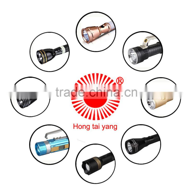 Recreational diving led submarine light diving flashlight waterproof pressing flashlight