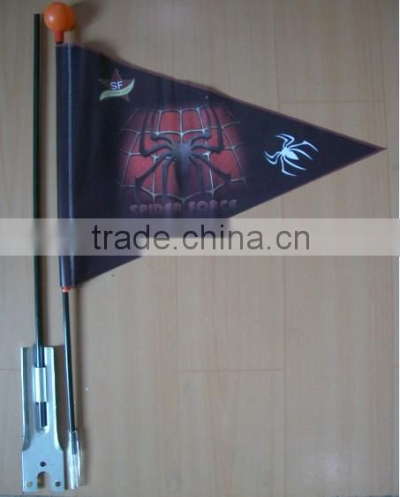 OEM PVC material cheap price high quality advertise bike flag
