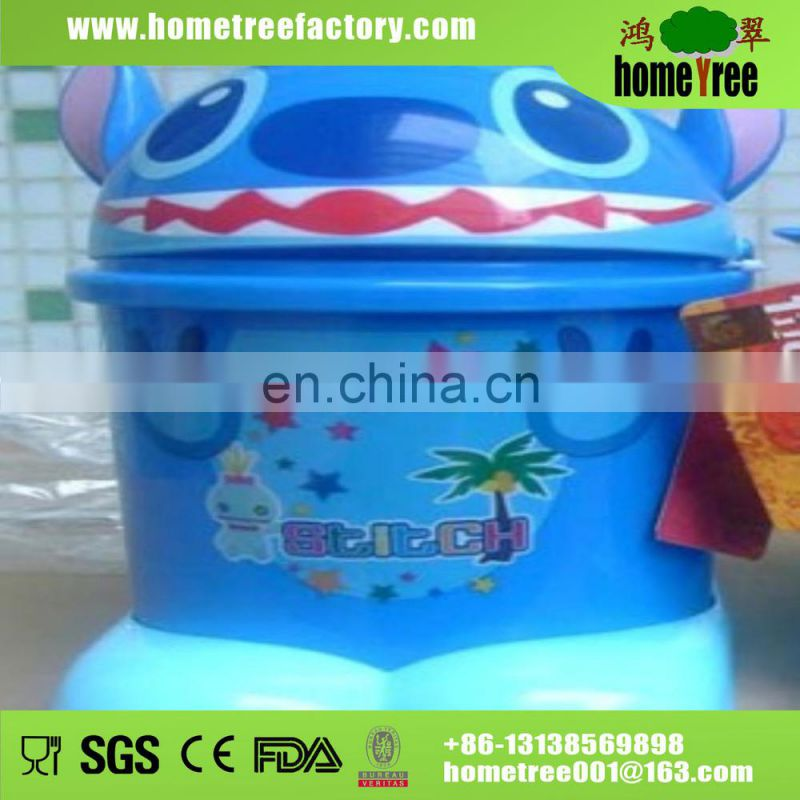7L Rectangle Shakelid Recycling Kitchen Waste Bin/Waster Paper Bin