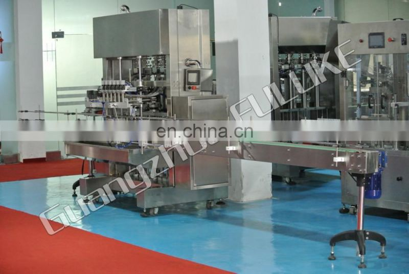 FLK CE liquid filling machine/pure water filling and sealing machine