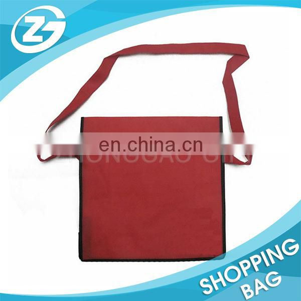 Customized Printing School Book Nonwoven Document Messenger Bag