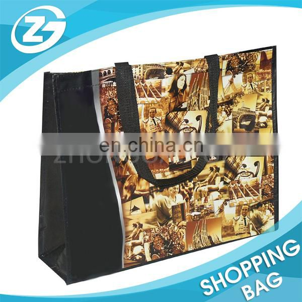 Eco Friendly Folded recycling nonwoven shop bag