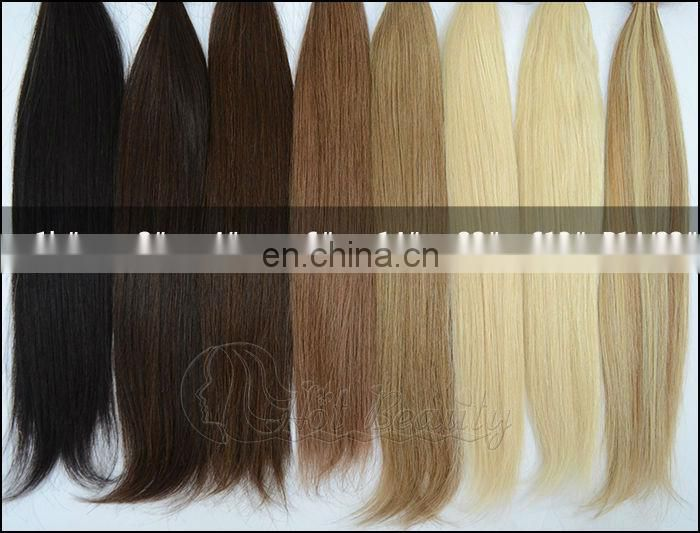 Brazilian human blonde wefts hair extension