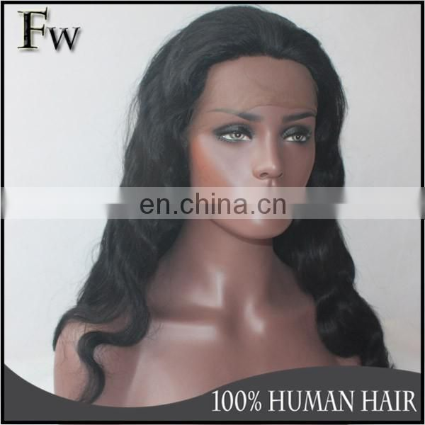 invisible hairline full lace wig of brazilian body wave full lace wig