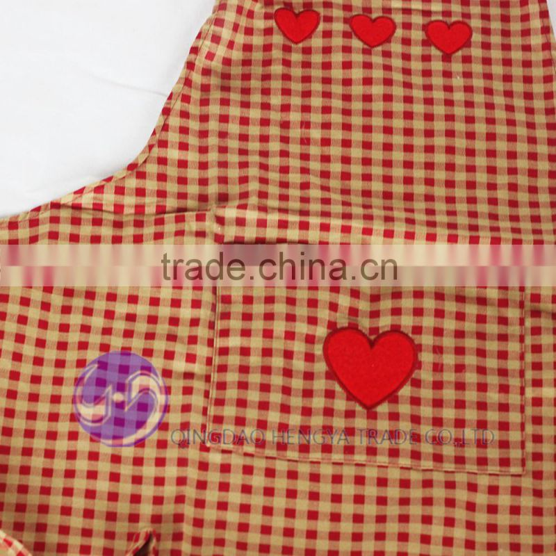 wholesale embroidered design kitchen apron