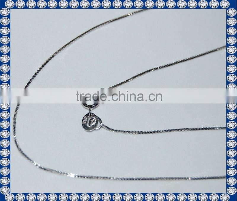 Sterling Silver Box Chains SCR014 Image