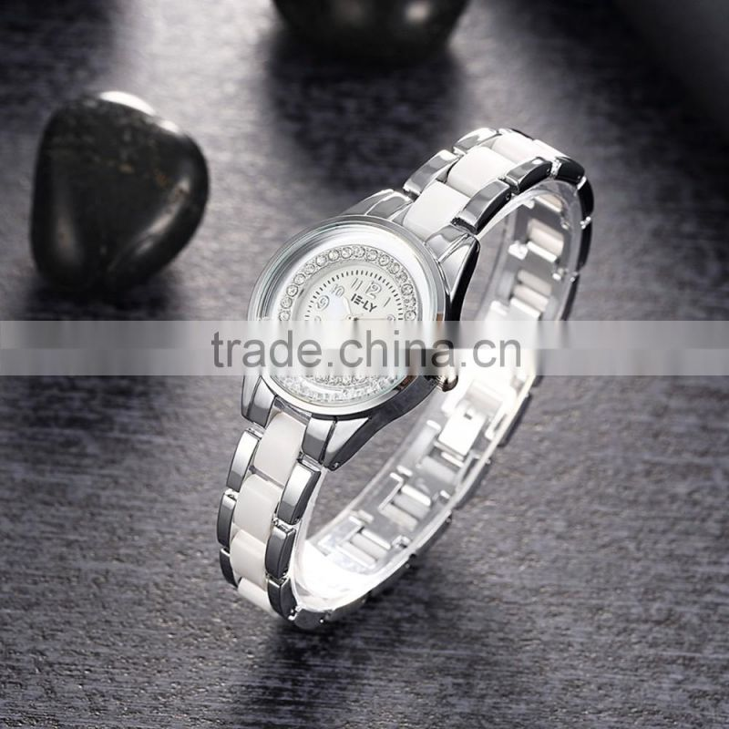 Japan movt quartz watch ceramic women watch