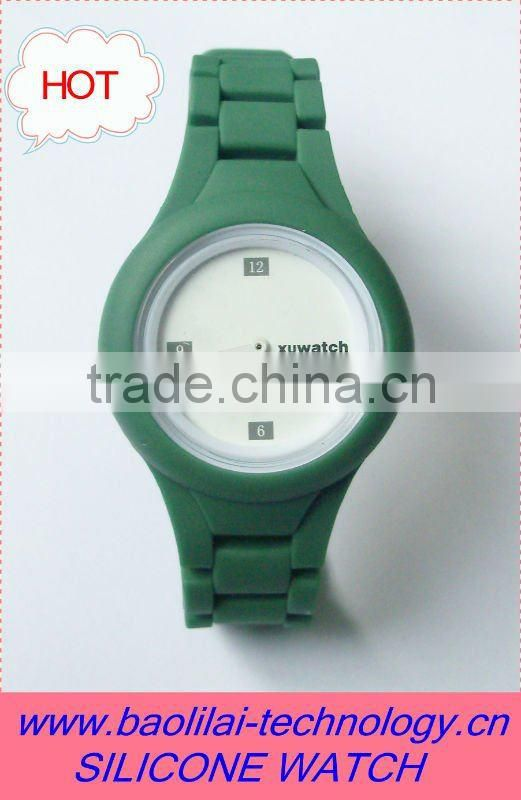 Free Sample, Latest Design Silicone Watch