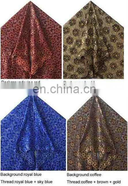 new arrival african cotton chemical lace embroidery fabric