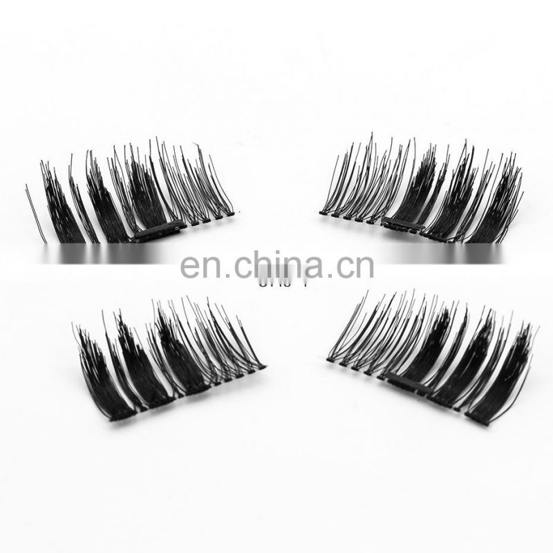 Magnetic false eyelashes one two lash magnetic eyelashes