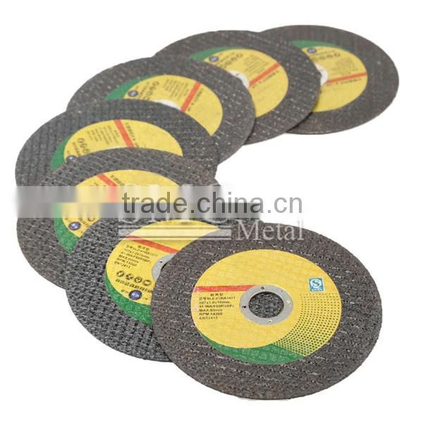 FLAT CUTTING WHEEL