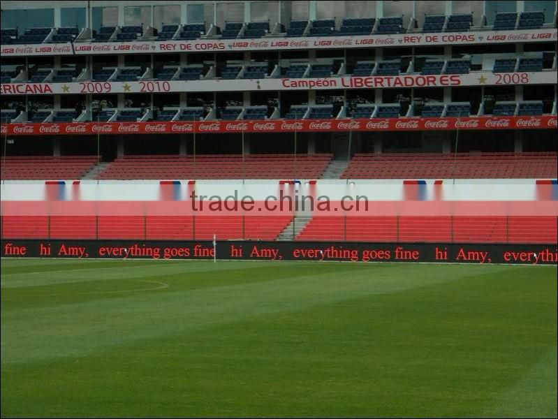 Football stadium LED display,led display sports led display Express Football Perimeter Advertising stadium led display billboard