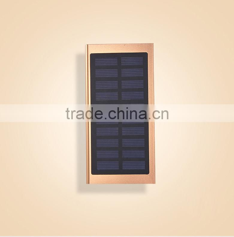 20000 mah extrathin solar power bank 2000mah