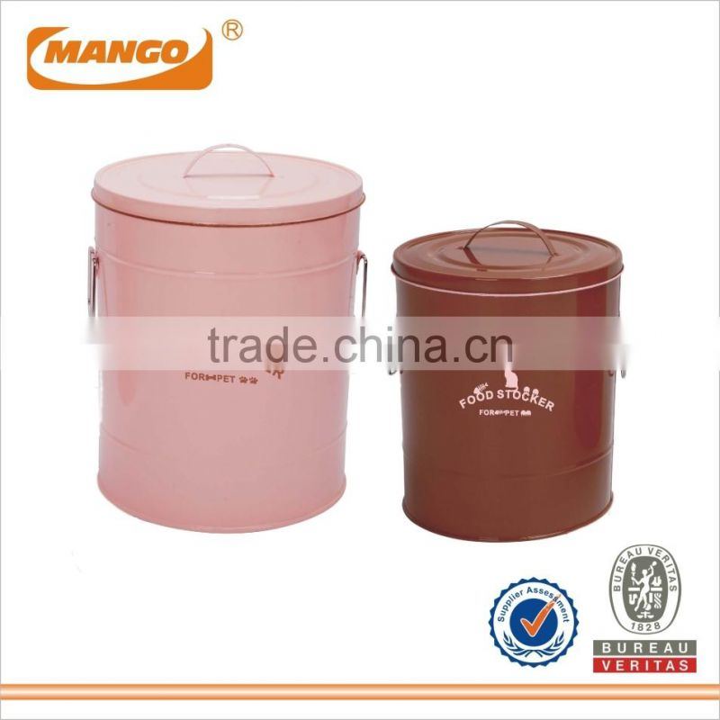 Powder Coating Metal Ash Bucket