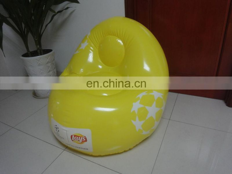 inflatable football sofa, inflatable soccer chair