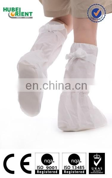 PP+CPE boot covers with nonslip PVC sole