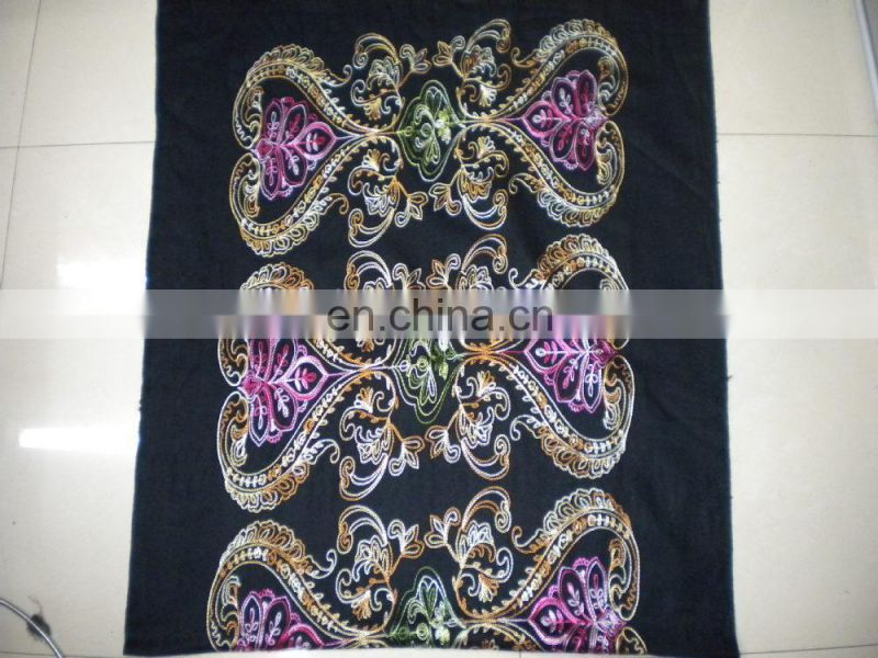 love embroider scarf 170*68cm lady's scarf woman shawl