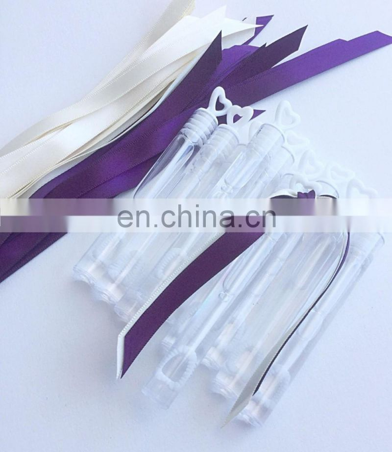 Wholesale Wedding send off Ribbon wands bubble