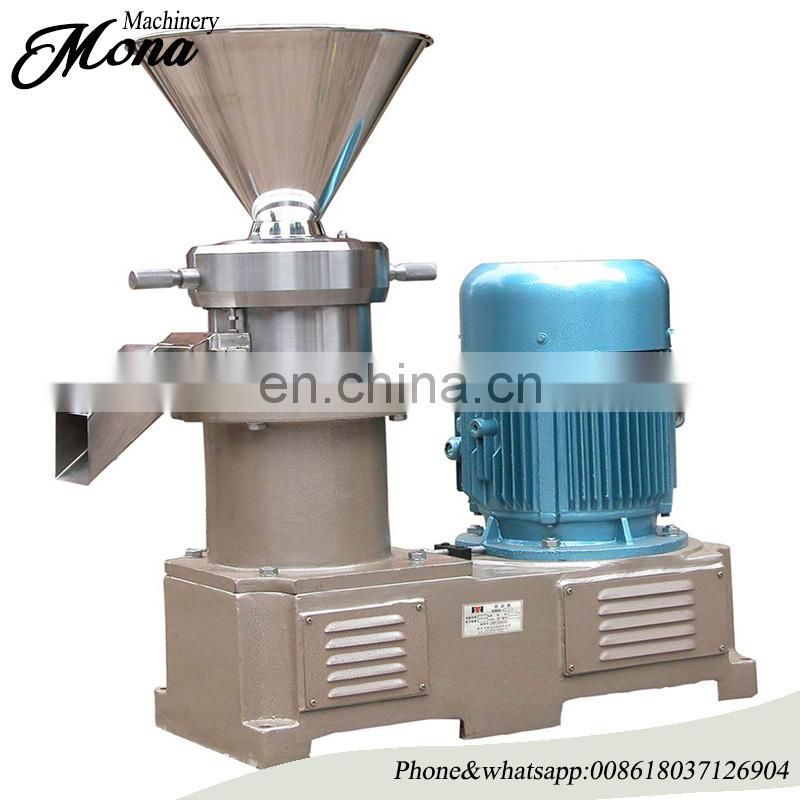 Stainless steel peanut butter vertical colloid mill Image