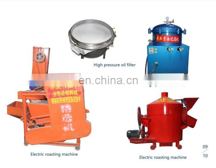 oil processing machine for soybean peanut