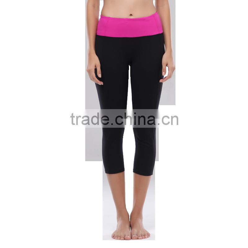 spandex/ polyester custom sublimation printing pants womens yoga tights