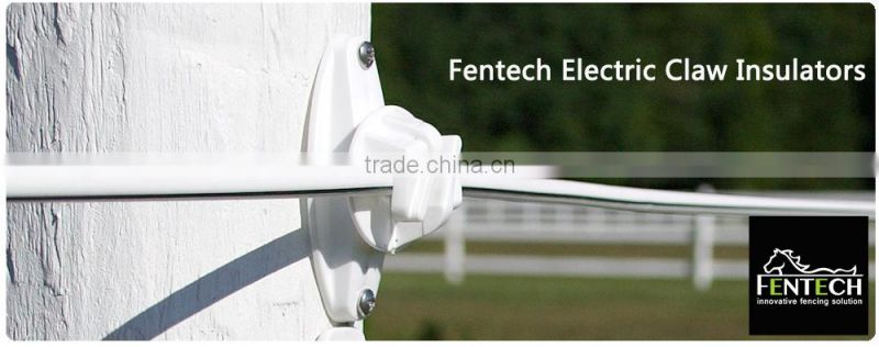 Fentech Wooden Post Claw Insulators for rope