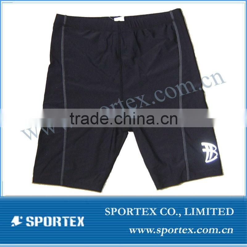 Custom Compression shorts with groin cup,compression wear