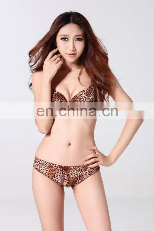 Miss Adola Leopard print hot sale sexy underwear women micor lingier ( YD-A3 )