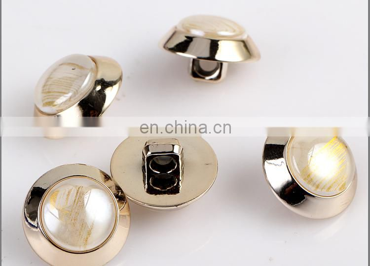 Fashion ABS and Shinny Shell Button for Suit BA60378