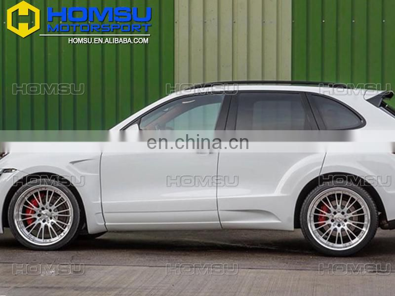 2011-2014 958 Cayenne Car Change FD Style Body Kit With FRP Material bodykit For Porsch-e