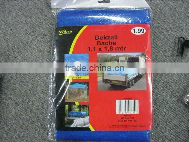 PE tarp circular 100gsm light duty for Protection round swimming pool