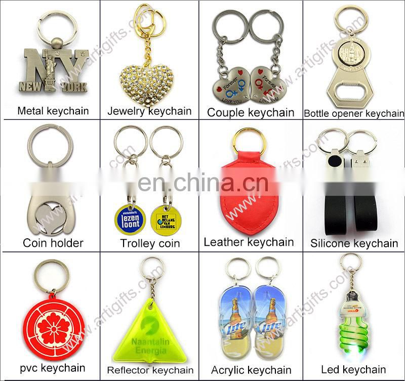 Korean Style Smart Bunny Diamond Key Chain Rabbit Keychain