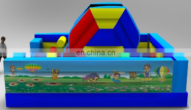 New design Inflatable fun city for kids,hot giant inflatable fun city