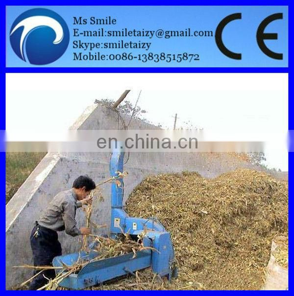 Alfafa grass cutting machine/grinding machine with sharp blades for selling