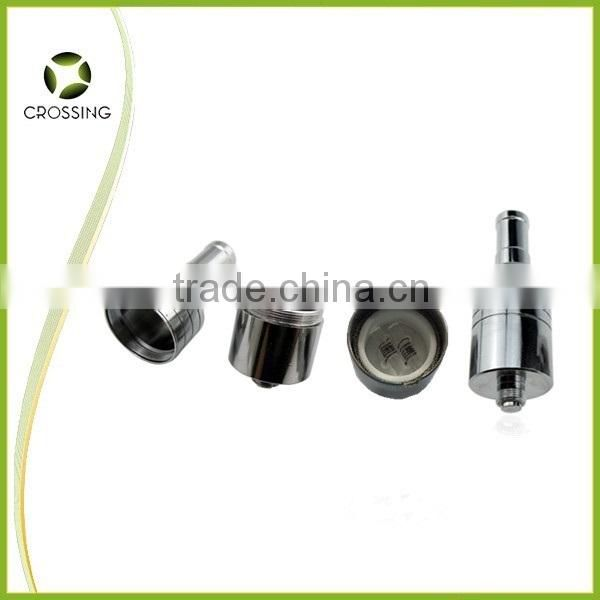 Wholesale smoking hand dab globe glass pipe with dual quartz rod coil , glass bowl atomizer