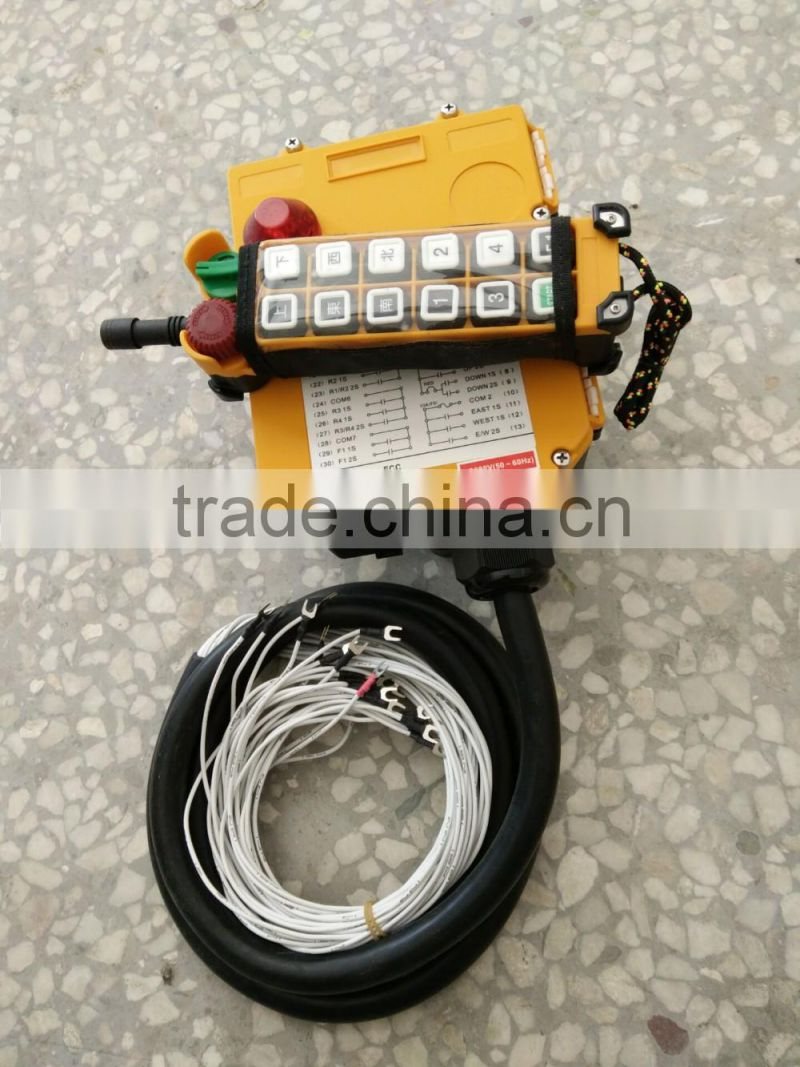Best selling type electric hoist of usual crane accessories, cd1 md1ac lifting weight electric hoist 2 ton harga price for sale
